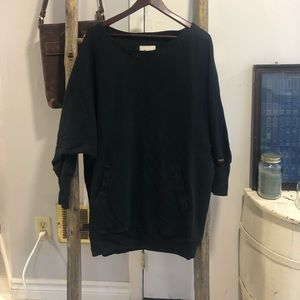 ROOTS tunic pocket sweater